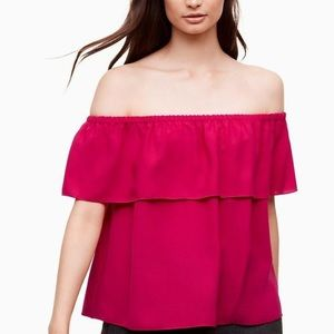 Aritzia Wilfred Promener Off the Shoulder Top XS